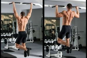 pullup exercise-chinup workout